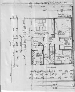 Grundriss obere Wohnung